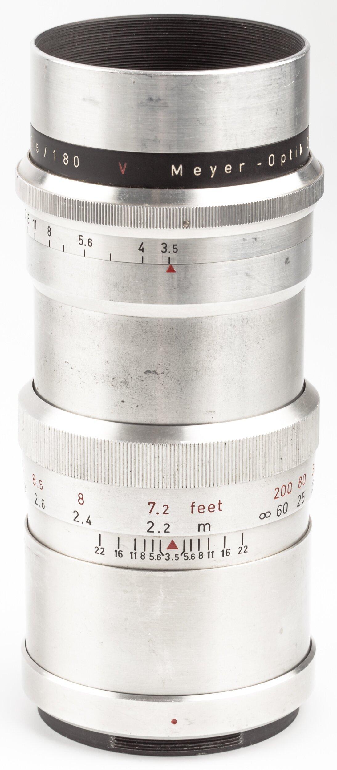 Meyer f. Primarflex 180mm 3,5 Primotar