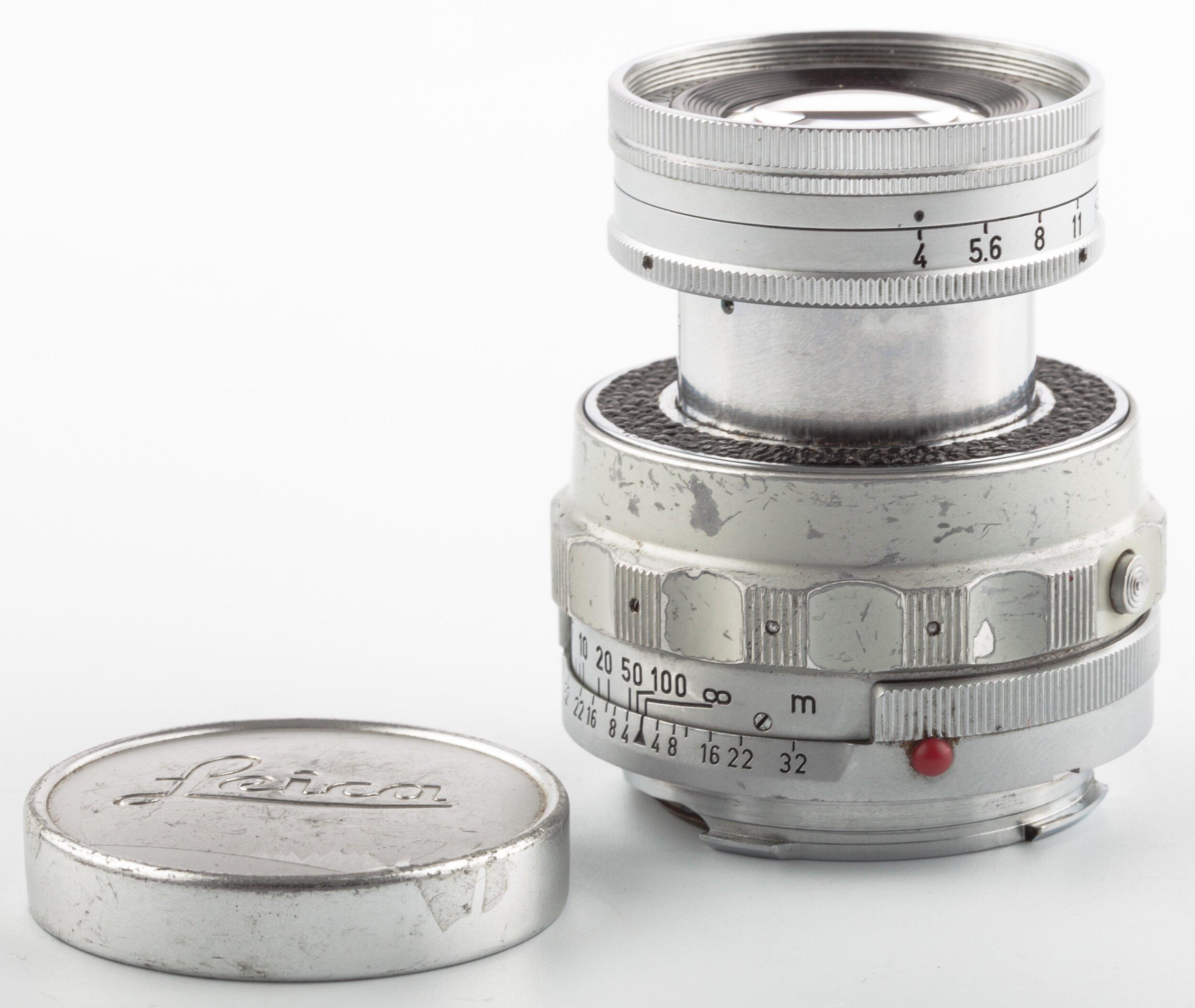 Leitz Leica M Elmar 9cm 4.0 collapsible Silver
