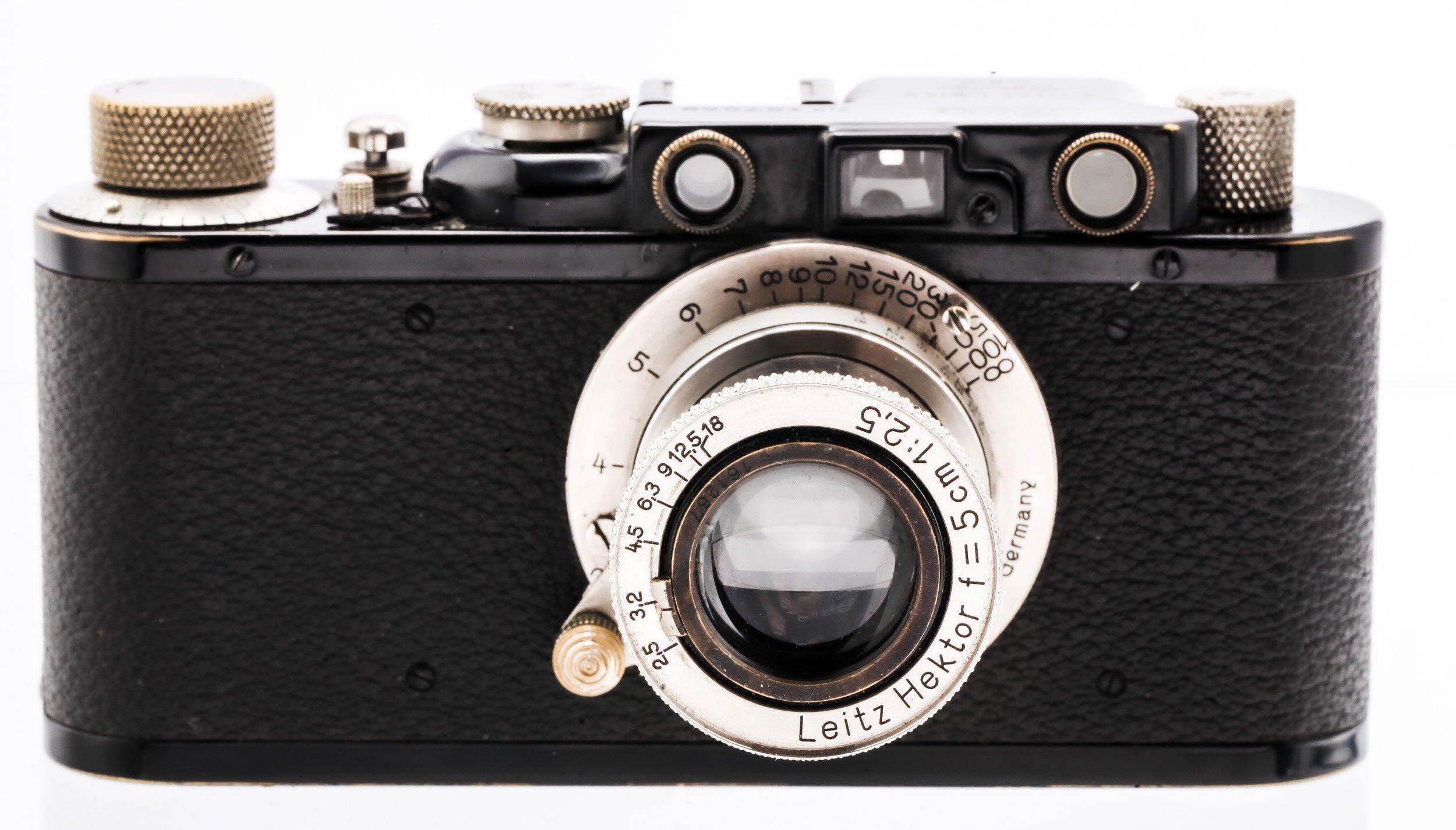 Leica II schwarz Hektor 5cm/2,5