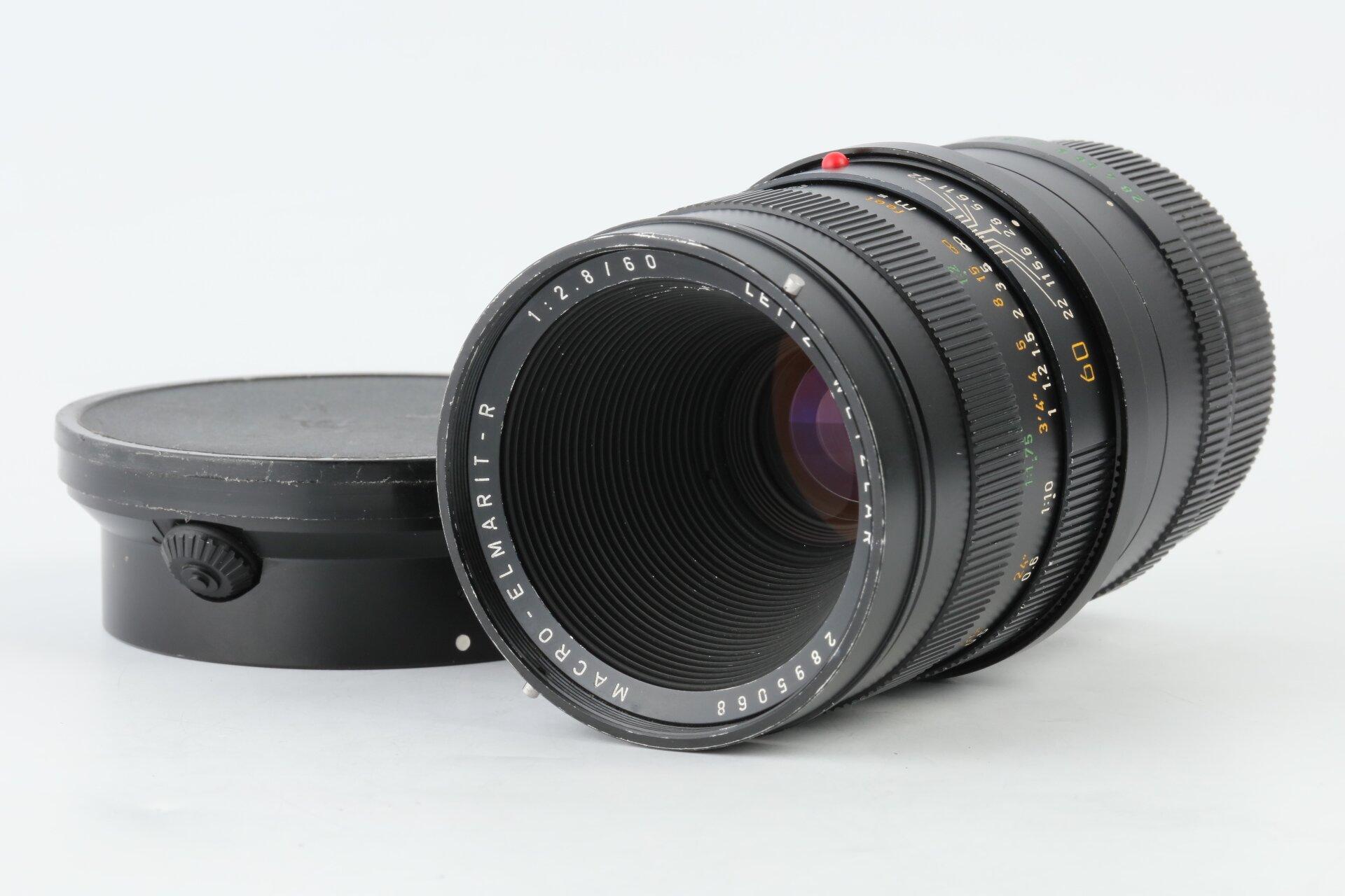 Leica Macro-Elmarit-R 2,8/60 + Makro Adapter
