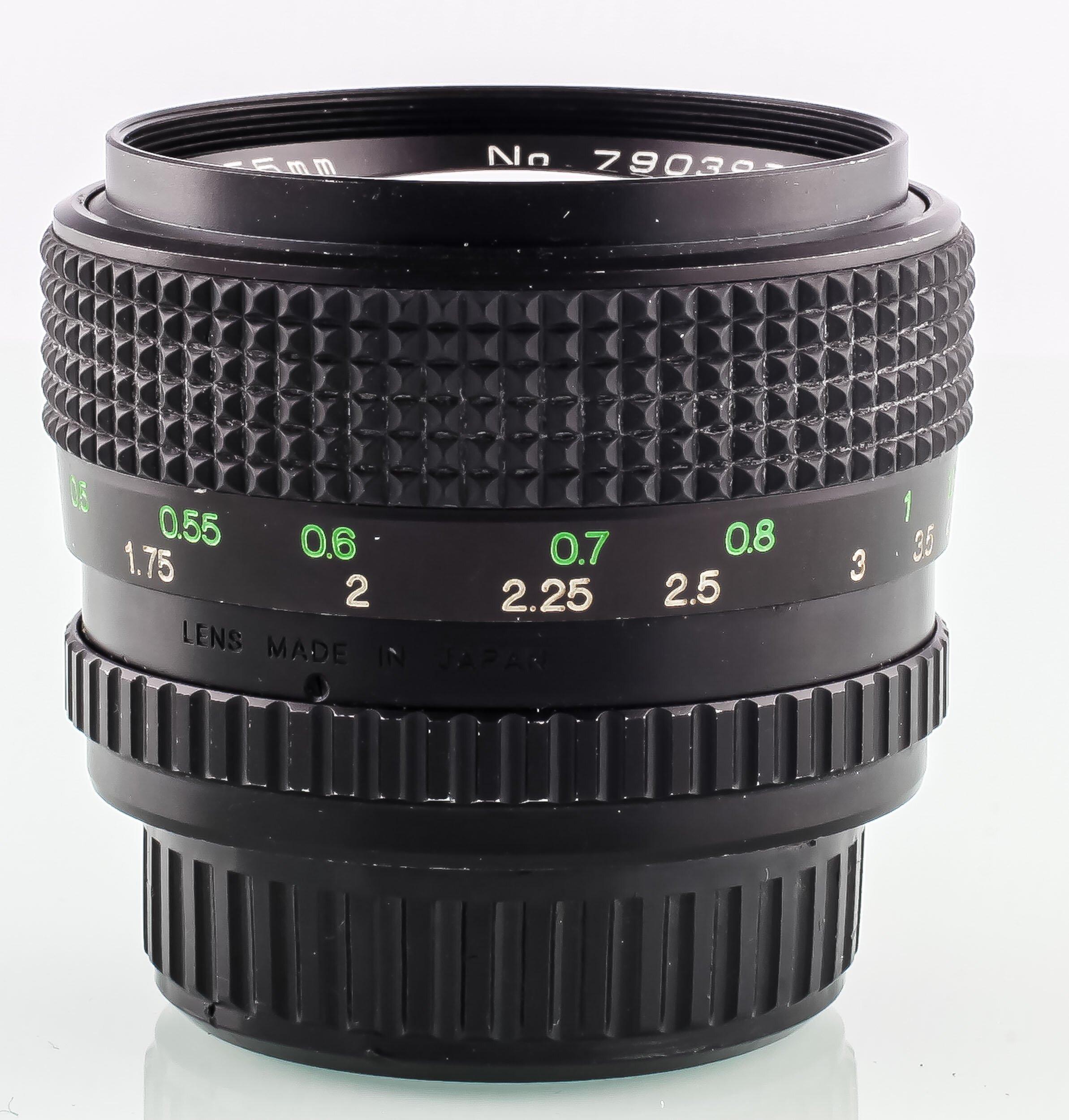 Cosinon f.Pentax K Auto MC 1,2/55mm